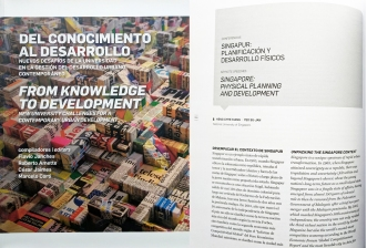 Heng CK and Yeo SJ (2016) Singapore: Physical Planning and Development. In: F Janches, R Amette, C Jaimes and M Corti (eds) From Knowledge to Development: New University Challenges for a Contemporary Urban Development. Argentina: Universidad de Buenos Aires, pp. 114-141.